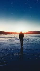عکس استوری اینستاگرام پسرانه غروب آفتاب