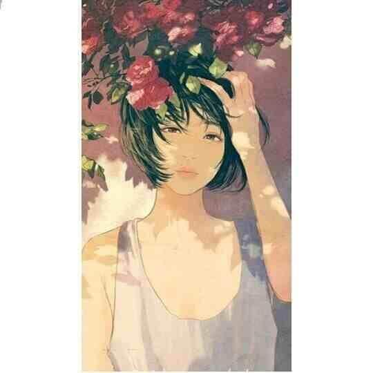 عکس پروفایل انیمیشن عاشقانه دخترانه