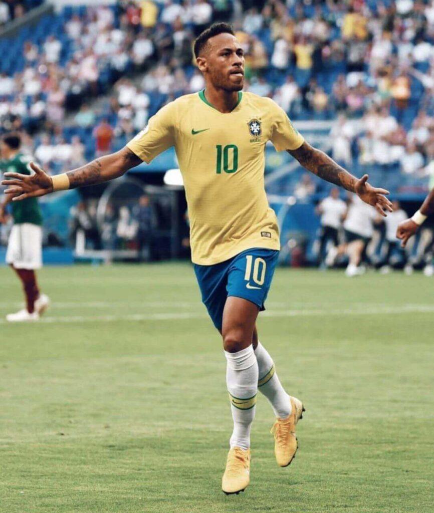 والیپر های فتبالی نمیار برزیل