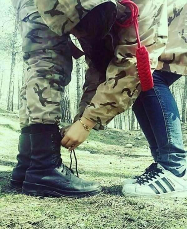 عکس پروفایل سربازی عشقم