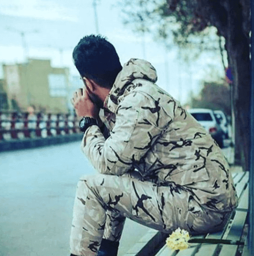 عکس پروفایل سربازی بدون متن