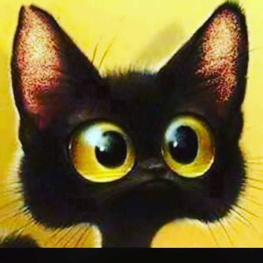 عکس پروفایل گربه کارتونی
