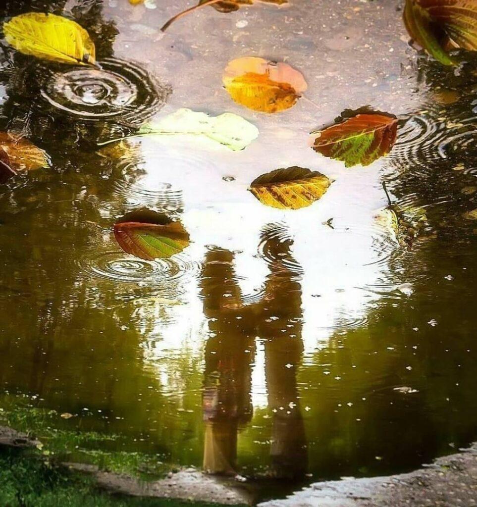 عکس پروفایل بارانی عاشقانه