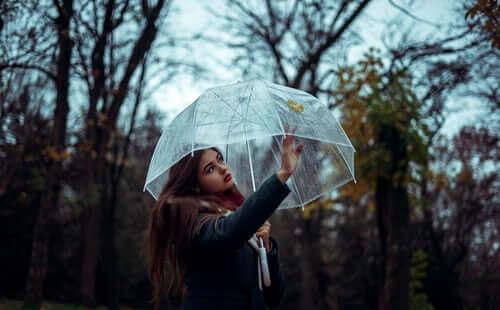 عکس پروفایل بارانی دخترونه