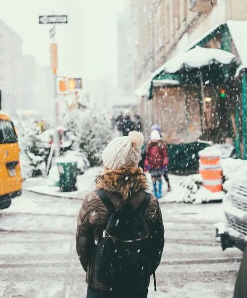 عکس پروفایل زمستانی شیک