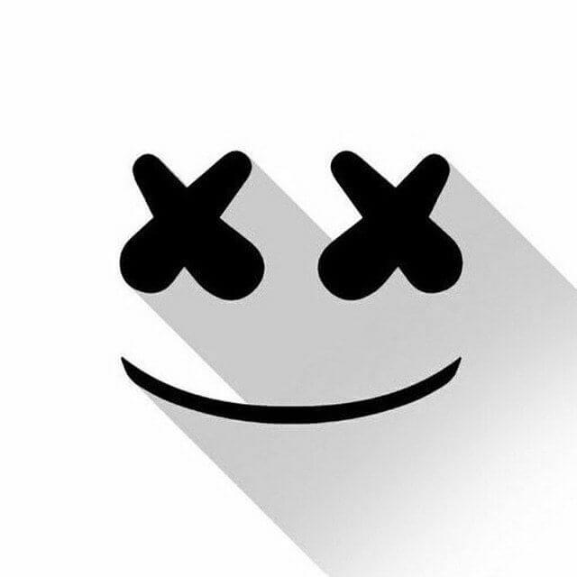 عکس پروفایل سیاه و سفید لبخند
