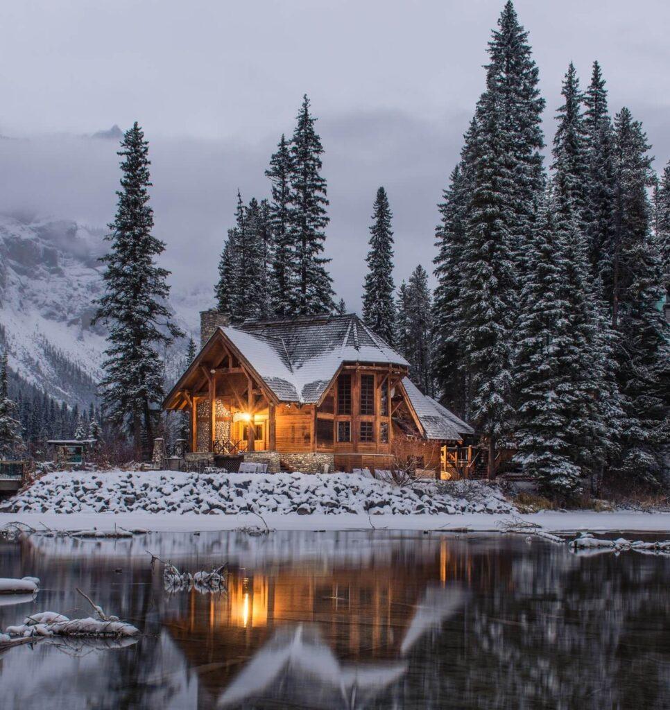عکس پروفایل طبیعت زمستانی