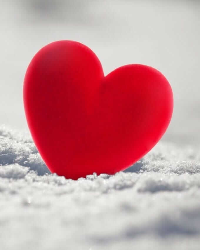 عکس پروفایل پر انرژی قلب