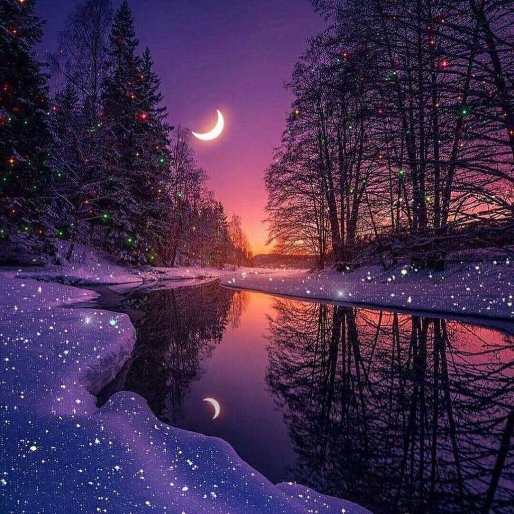 عکس پروفایل ماه عاشقانه