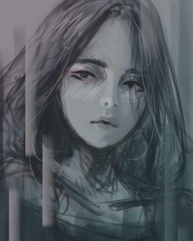 عکس پروفایل دخترانه فانتزی غمگین