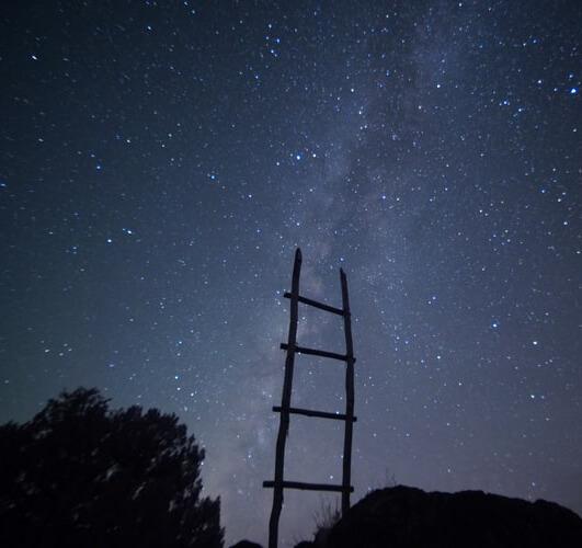 دانلود عکس پروفایل ماه و ستاره