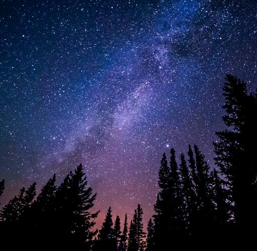 عکس پروفایا آسمان ستاره ای