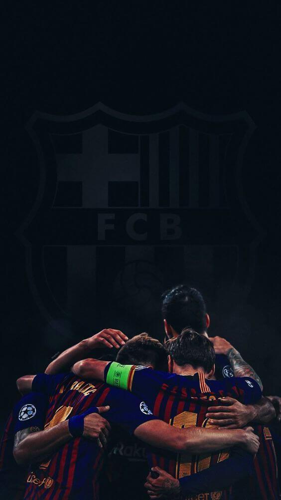 والپیپر تیم فوتبال بارسلونا