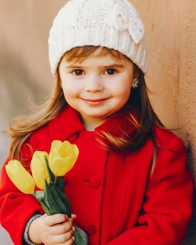 عکس پروفایل بچه گانه دخترانه