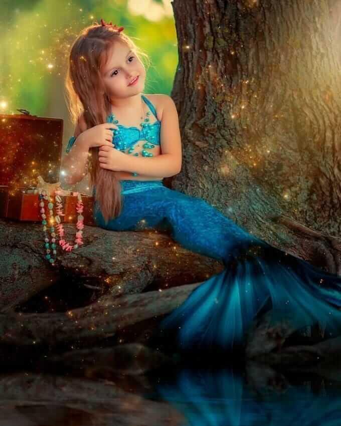عکس پروفایل بچه گانه دخترانه فانتزی