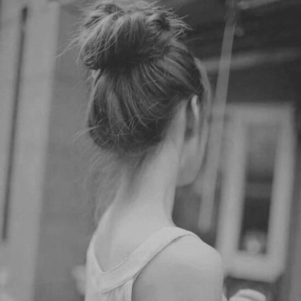 عکس پروفایل سیاه و سفید دخترانه