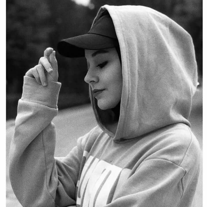 عکس پروفایل سیاه و سفید دخترانه شیک