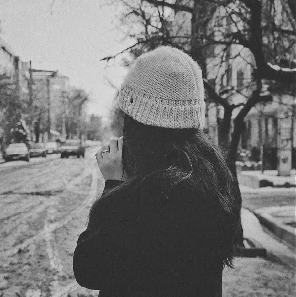 عکس پروفایل شیک دخترانه سیاه و سفید