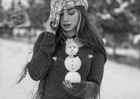 دانلود عکس پروفایل سیاه سفید دخترانه