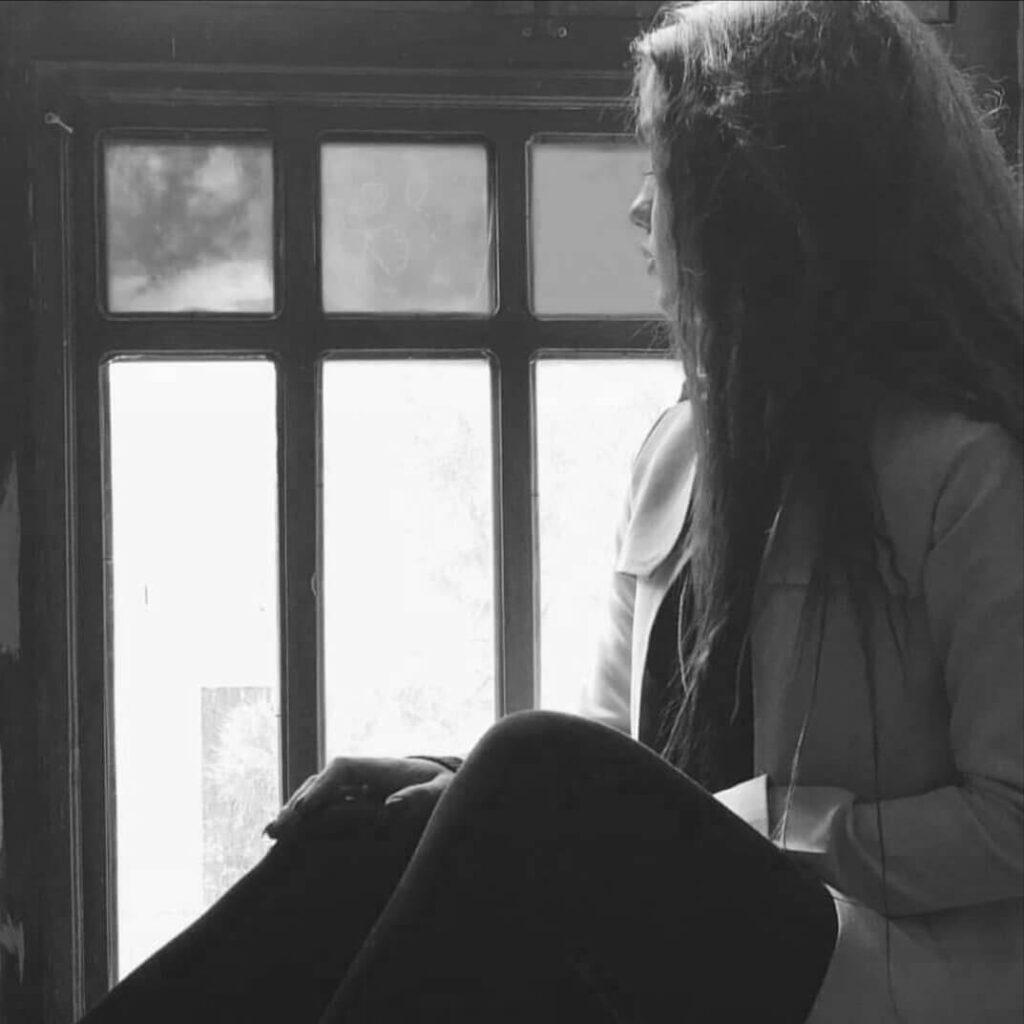 عکس شیک سیاه و سفید دخترانه